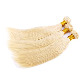 Urembo Platinum 100% Indische Echthaar Tressen NATURAL STRAIGHT Virgin Remy indian Human Hair Extension Weave - 100g