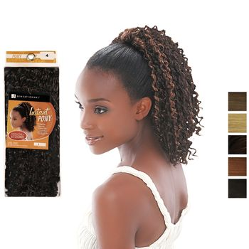 Sensationnel ID HZ P028 INSTANT PONY Drawstring Ponytail