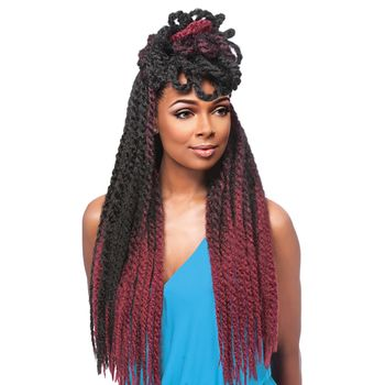 African Collection SAMBA TWIST Sensationnel Pre-Looped Braids