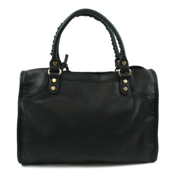 Nourel London NR-1000-BK Damen Shopper Schwarz