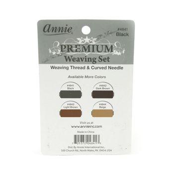 Annie Premium Weaving Set - Black - Faden und Nadel