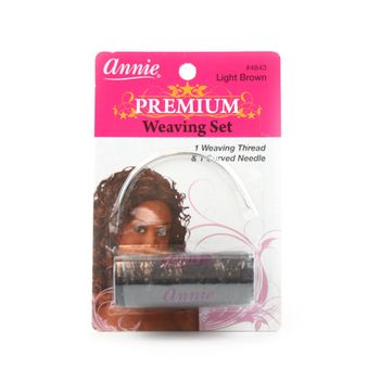 Annie Premium Weaving Set - Light Brown - Faden und Nadel
