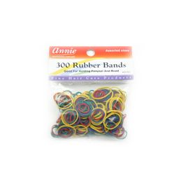 Annie Rubber Bands 300 Stück assorted Haargummis