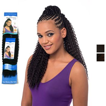 Impression - Brazilian Braid 20'' Inch 50 cm bulk