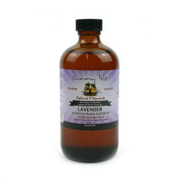 Sunny Isle Lavender Jamaican Black Castor Oil 8oz 236ml