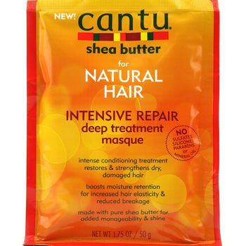 Cantu Shea Butter Intensive Repair Deep Treatment Masque for Natural Hair 1.75oz 50g