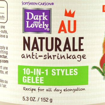 Dark & Lovely Au Naturale Anti-Shrinkage 10-in-1 Styles Gelee 5.3oz 152g
