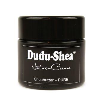 Dudu-Osun - Set CLASSIC - 1x 100% reine Sheabutter Natur-Creme PURE 100ml + 1x Dudu-Osun CLASSIC - Original Schwarze Seife aus Afrika - Original Black Soap 150g
