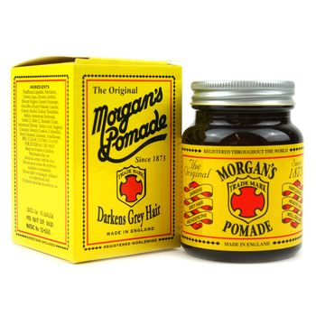 Morgan's Pomade Darkens Grey Hair 3.5oz 100g
