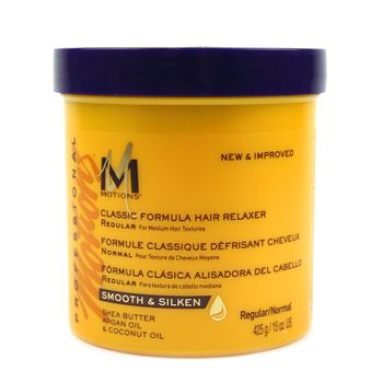 Motions Professional Smooth & Silken Classic Formula Hair Relaxer REGULAR 15oz 425g Glättungscreme