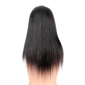 Urembo Platinum Style 360° Lace Wig - 100% Indian Virgin Remy Human Hair Natural Straight Echthaar Perücke