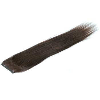 Urembo Platinum Wrap Ponytail - 100% Indian Virgin Remy Human Hair Natural Straight Echthaar
