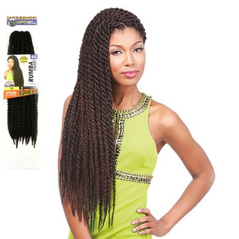 Sensationnel African Collection - Rumba Twist Braid 60'' 150 cm bulk Braids