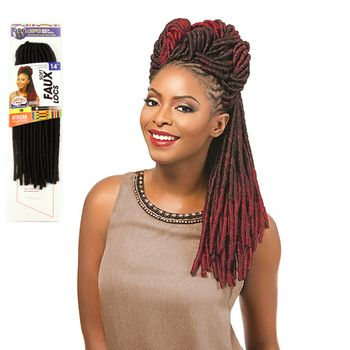 Sensationnel African Collection - Soft Faux Locks 14'' 35 cm bulk Braids
