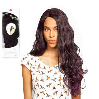 Feme Collection - Premium Blended - Italian Body - ONE PACK SOLUTION Tresse Human Hair Blend Weave