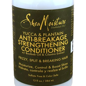 Shea Moisture Yucca & Plantain Anti-Breakage Strengthening Conditioner 13oz 384ml Anti-Bruch Haarspülung