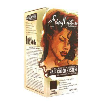 Shea Moisture Nourishing Moisture-Rich Color Creme Dark Auburn Haarfarbe Dunkles Kastanienbraun