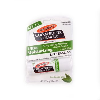 Palmer's Cocoa Butter Formula Dark Chocolate & Mint Ultra Moisturizing Lip Balm 0.15oz 4g Lippenpflege