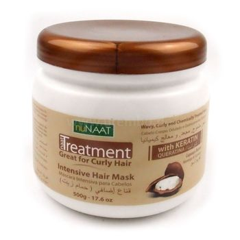 nuNaat Intensive Hair Mask 17.6oz 500g Intensiv pflegende Haarmaske