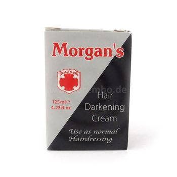 Morgan's Hair Darkening Cream 4.23oz 125ml Haarverdunkelnde Creme
