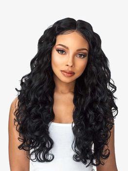 Sensationnel Empress Lace Front Edge Boutique Bundles BODY WAVE CUSTOM WIG Perücke
