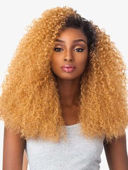 Sensationnel Empress Lace Front Edge Boutique Bundles BRAZILIAN WAVE CUSTOM WIG Perücke