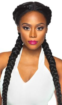 Outre Swiss X Lace Front Wig Vixen YAKI Perücke Lace Wig