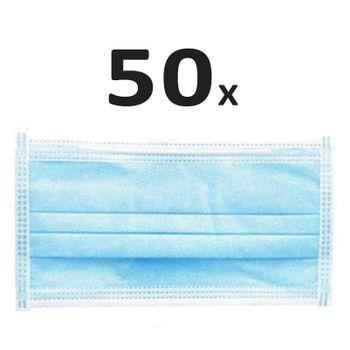50er Pack Mundschutz (Chirurgische Gesichtsmaske)