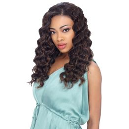 Sensationnel Premium Too HH Blended Deep Body Wvg Tresse Human Hair Blend Weave