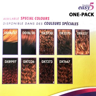 Sensationnel BRAZILIAN natural body EASY 5 kanubia ONE PACK SOLUTION! Brazilian Hair Curl Patterns Tresse Weave