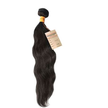 Sensationnel Natural Wavy BRAZILIAN REMY Bare & Natural HH - UNPROCESSED Echthaar Tresse 100% Human Hair Weave