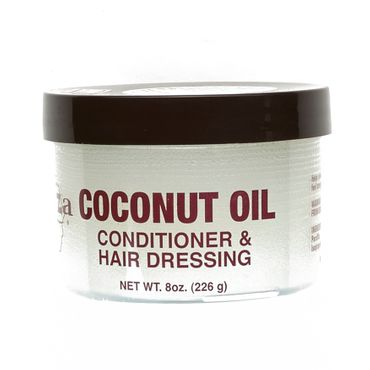 Kuza Hair Coconut Oil Conditioner & Hair Dressing 8oz 226g