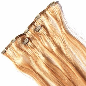 Sensationnel Plus-HH Pro-Clips 3 piece Extension Echthaar Clip-In 100% Human Hair