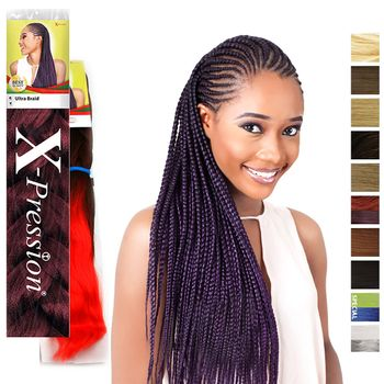 X-pression Premium Original Ultra Braid Braids