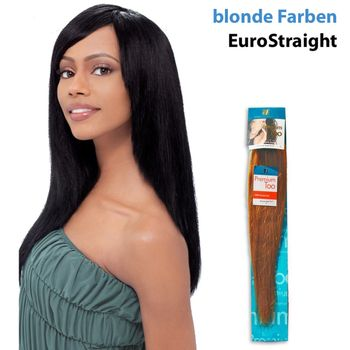 Sensationnel Premium Too-HH Euro Str Wvg Echthaar Tresse 100% Human Hair Weave