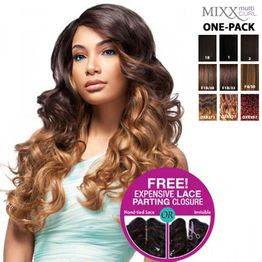 Sensationnel Too XL Mixx - European Wave ONE PACK complete Tresse Human Hair Blend Weave