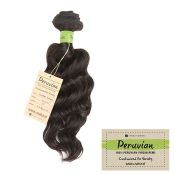 Sensationnel HH Loose Deep PERUVIAN REMY Bare & Natural - UNPROCESSED Echthaar Tresse 100% Human Hair Weave