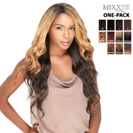 Sensationnel Too Bundle Mixx - Brazilian ONE PACK complete Tresse Human Hair Blend Weave