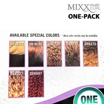 Sensationnel Too Bundle Mixx - BOHEMIAN ONE PACK complete Tresse Human Hair Blend Weave
