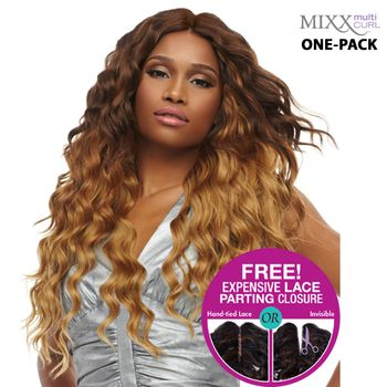 Sensationnel Too XL Mixx - Egyptian Wave ONE PACK complete Tresse Human Hair Blend Weave
