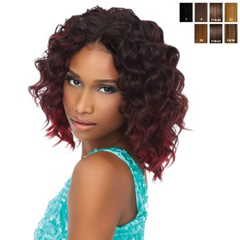 Sensationnel Premium Too - HH Loose Deep Wvg 9 SHORTY 3 pieces of 9'' Tresse Human Hair Blend Weave