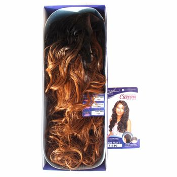 Sensationnel Empress front edge BODY WAVE CUSTOM WIG L parting-HRF Perücke Lace Wig