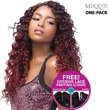 Sensationnel Too XL Mixx - CARIBBEAN WAVE ONE PACK complete Tresse Human Hair Blend Weave