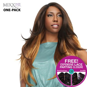 Sensationnel Too XL Mixx - Venetian Wave ONE PACK complete Tresse Human Hair Blend Weave
