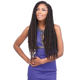 Sensationnel JAMAICAN LOCKS 44'' 112cm Braid - African Collection - extra LONG & extra VOLUME Braids