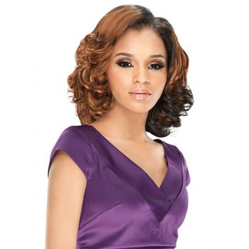 Outre Purple Pack 3pcs Sea Wave Wvg Tresse Human Hair Blend Weave