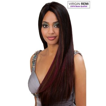 Bobbi Boss  - INDIREMI Natural Yaki Remy  Echthaar Tresse 100% Human Hair Weave