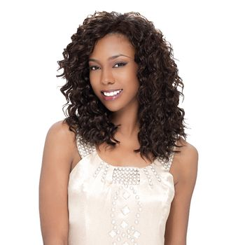 Sensationnel Style 360 - LOOSE DEEP 12',14' ONE PACK complete 4 pieces Tresse Human Hair Blend Weave