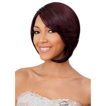 Bobbi Boss Lace Front Wig - MBLF70 LOTTIE Perücke Human Hair Blend Lace Wig