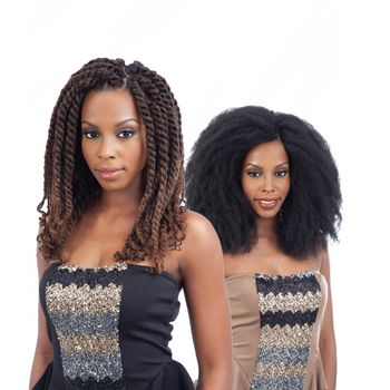 FreeTress Equal - Havana & Double Strand Style - Cuban Twist Braid Bulk 12'' Braids